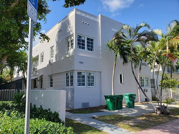 New high impact windows and doors in Miami Beach and Commercial exterior painting